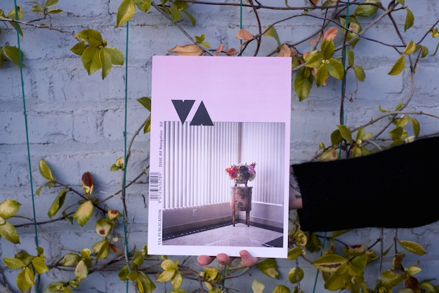 Cover of VIA Issue 02, photograph by Rachel Wolfe