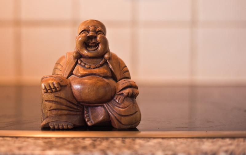 Laughing Buddha via Flickr