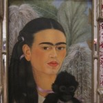 "Frida Kahlo, ""Fulang Chang and I,"" (1937) (image via Flickr)"