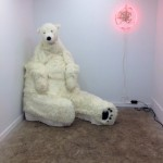 A Polar Bear's Lap Is the Best Place to Be / Hyperallergic