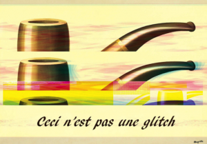 "Daniel Temkin, ""Ceci n'est pas une glitch"" [sic] (2010) (all images used with permission from nooart.org)"