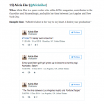 15 hilarious women you need to follow on Twitter / The Daily Dot [PRESS]