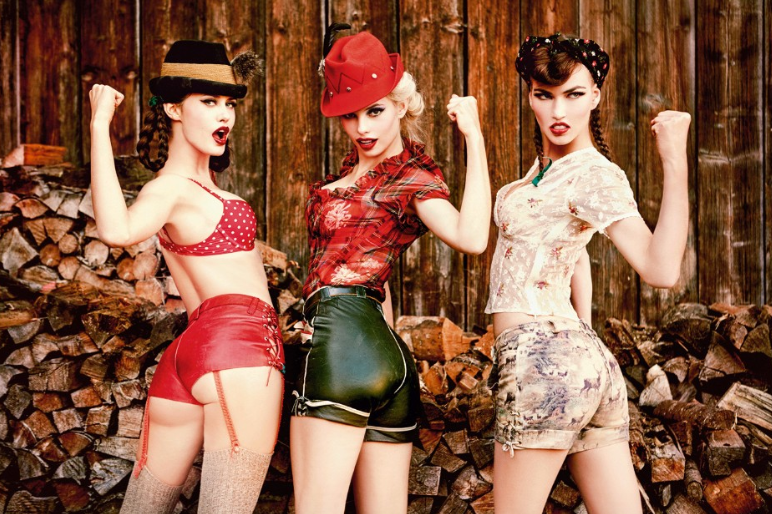 "From Ellen von Unwerth's series ""HEIMAT"""