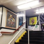 Flowers on the Blue Line / Hyperallergic