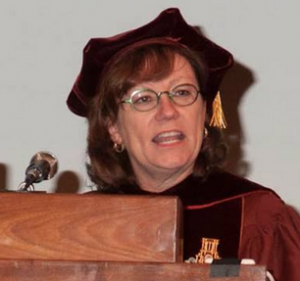 Art historian Ann Collins Johns of the University of Texas at Austin (image used with permission)